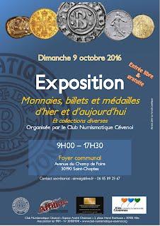 Affiche exposition Saint-Chaptes